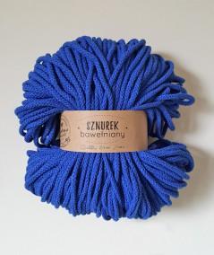 Sznurek bawełniany 5 mm chabrowy do rękodzieła