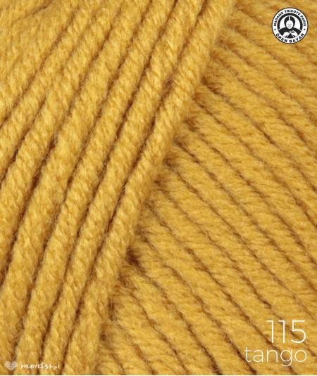 Włóczka Tango Madame Tricote 115 musztardowy