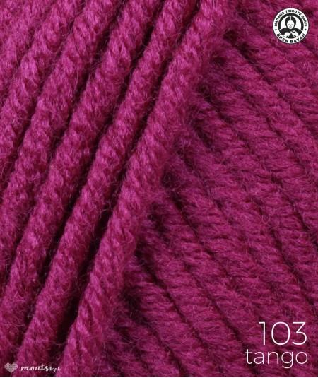 Włóczka Tango Madame Tricote 103 burgund