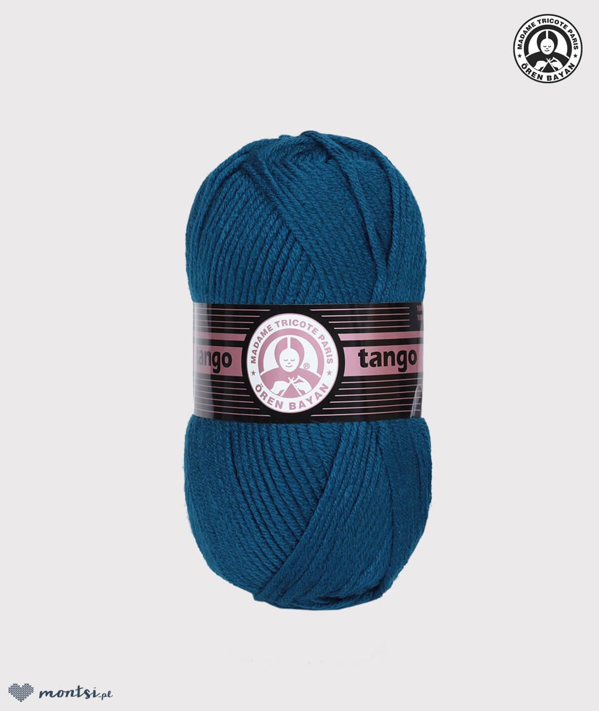 Włóczka Tango Madame Tricote 101 turkus morski