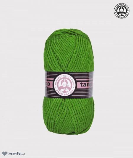 Włóczka Tango Madame Tricote 087 zielony trawka