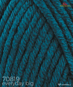 Włóczka Everyday BIG Himalaya 70819 ciemny turkus