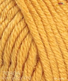 Włóczka Everyday BIG Himalaya 70806 musztardowy