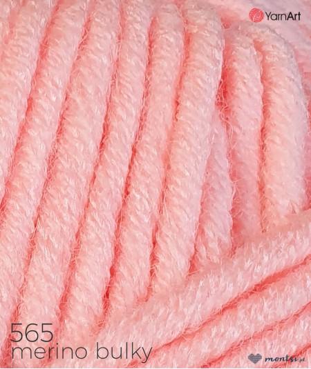 Włóczka Merino Bulky YarnArt 565 łososiowy