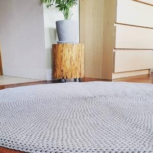 A kto czeka na 15393 cm2 szarego dywanu, jutro się doczeka! 😀 Siti szary ręcznie dziergany.  #dywanzesznurka #szary #rekodzielo #handmade #crochet #cottoncord #grey #crocheteveryday #crochetcarpet #greycarpet #homegarden #homedecorideas #montsicrafts #handcraftedwithlove #crocheter